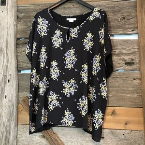 In Every Story multi media blouse